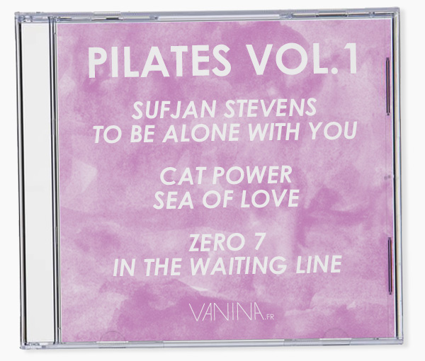 Playlist gratuite pour une séance de Pilates