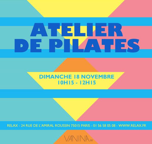 Atelier de Pilates dans le 15ème arrondissement de Paris