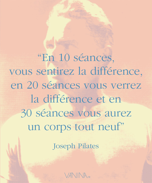 Citation de Joseph Pilates